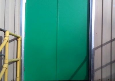 Powder Coated Double Doors