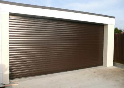 Brown Garage Shutter in Stratford