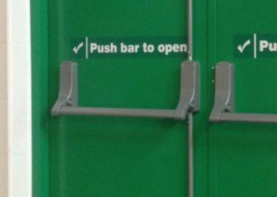 3 Point Panic Bar