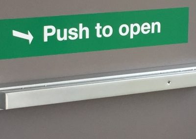 Fire Exit Push Bar